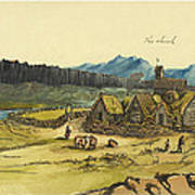 Almanna Gorge Circa 1862 Art Print by Aged Pixel