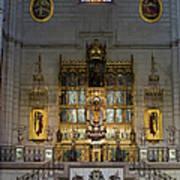 Almudena Cathedral Altar Art Print