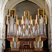 Almudena Cathedral Organ Art Print