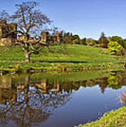 Alnwick Castle Panorama Art Print