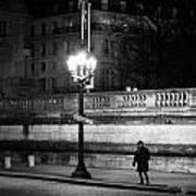 Alone In Paris Art Print