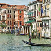 Alone In Venice Art Print