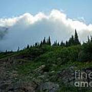 Along Going To The Sun Road Art Print
