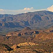Along The Apache Trail Art Print