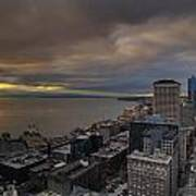 Along The Seattle Waterfront Art Print