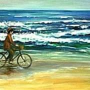 Along The Surf Art Print