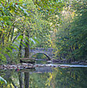 Along The Wissahickon In October Art Print