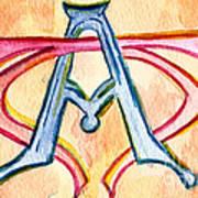 Alpha And Omega - Study #2 Art Print