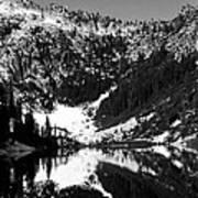 Alpine Lake August 1975 #1 Art Print