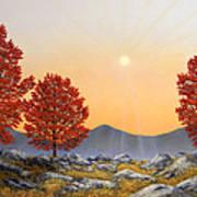 Alpine Meadow II Art Print