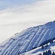 Alps Profile Art Print