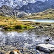 Alps Southern France Art Print