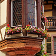 Alsace Window Art Print