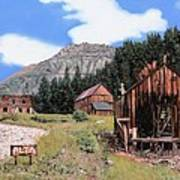 Alta In Colorado Print by Guido Borelli