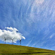 Altamont Windmills Art Print