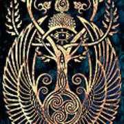Altar #1 Art Print by Cristina McAllister