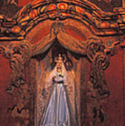 Altar And Madonna Art Print
