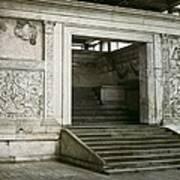 Altar Of Peace Of Augustus. 13 Bc Art Print