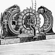 Alternating-current Dynamo Art Print