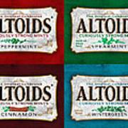 Altoids Collection Scratches Art Print