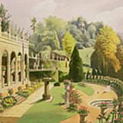 Alton Gardens Art Print
