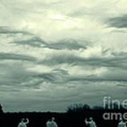 Altostratus Undulatus Asperatus Clouds Art Print