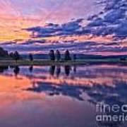Alum Creek Sunrise Art Print