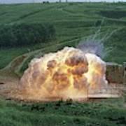 Aluminium Powder Explosion Art Print