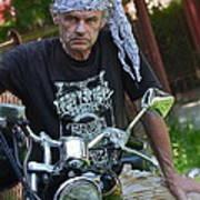 Always Free Like A Wind -  Easy Dream Rider. Art Print by  Andrzej Goszcz