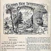 am t 24 colton climate vignettes R Art Print