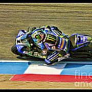 Ama Superbike Josh Jayes From Above Art Print
