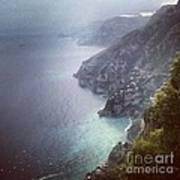 Amalfi Coast And Beyond Art Print by H Hoffman