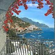Amalfi Vista Art Print