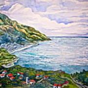 'amalfitana' Art Print