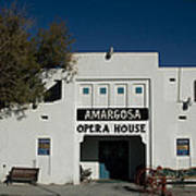 Amargosa Opera House Death Valley Img 0021 Art Print