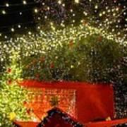 Amazing Christmas Lights Art Print
