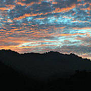 Amazing Evening Sky Art Print