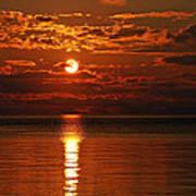 Amazing Sunset Art Print