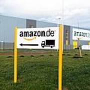 Amazon Warehouse Art Print