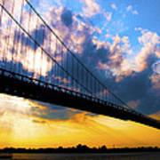Ambassador Bridge Art Print