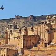 Amber Fort View - Jaipur India Art Print