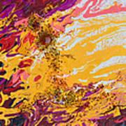 Amber Sun Art Print