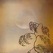 Amber Vision Art Print by Bedros Awak