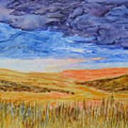 Amber Waves Of Grain Art Print