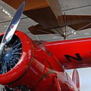 Amelia Earhart Prop Plane Art Print