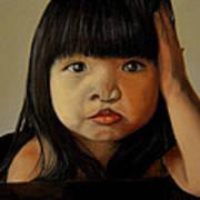 Amelie-an 5 Art Print