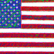 America - 20130122 Print by Wingsdomain Art and Photography
