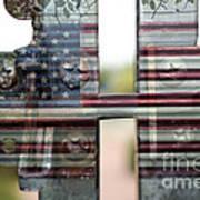 America Land Of The Free Art Print