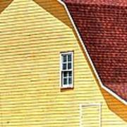 American Barn 14601 Art Print