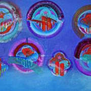American Blue Art Print